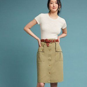 Green Isla Maude Utility Pencil Skirt (NWT)